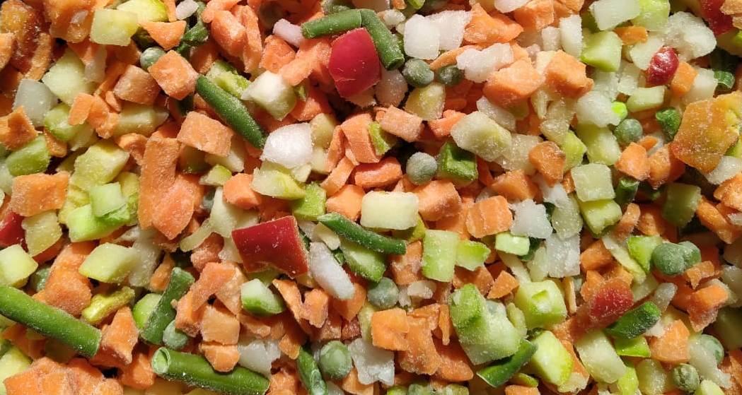 Овощи Весенняя смесь